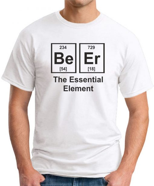 BEER THE ESSENTIAL ELEMENT WHITE