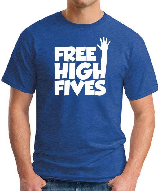 FREE HIGH FIVES ROYAL BLUE