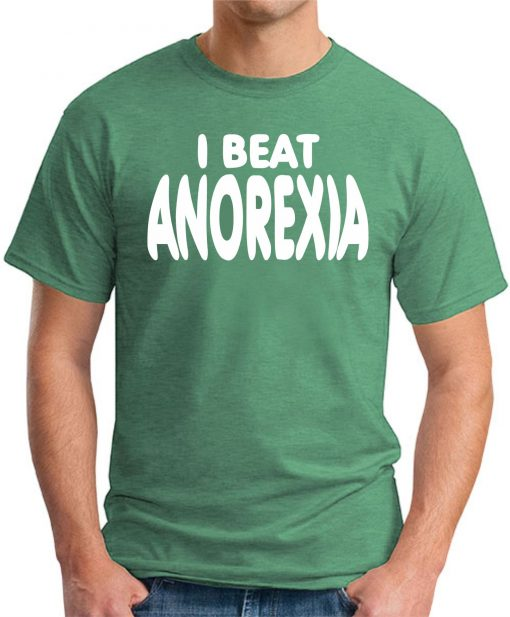 I BEAT ANOREXIA GREEN