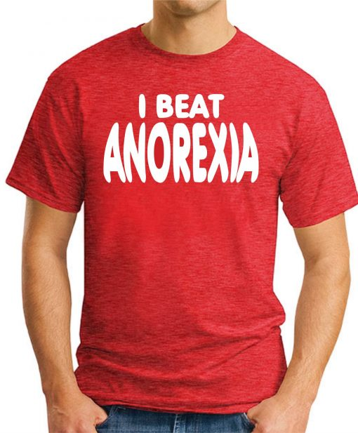 I BEAT ANOREXIA RED