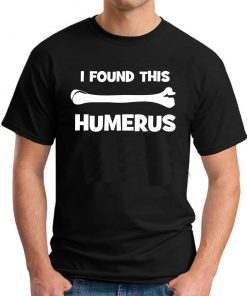 I FOUND THIS HUMERUS BLACK