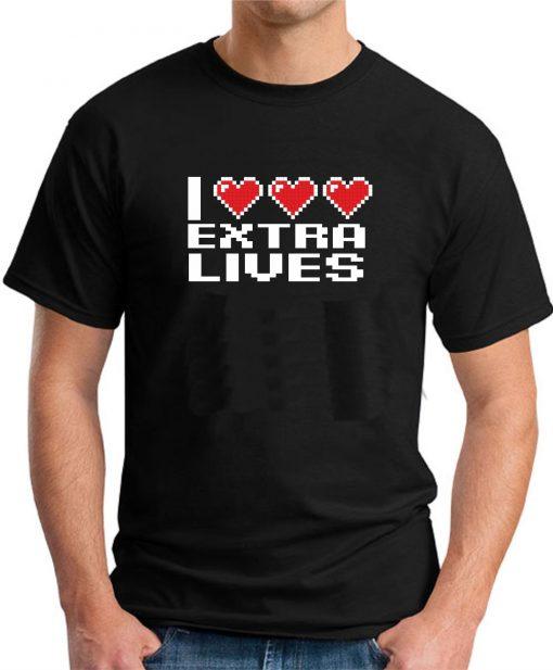 I HEART EXTRA LIVES BLACK