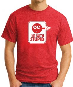 I'M WITH STUPID RED