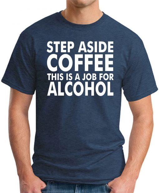 STEP ASIDE COFFEE NAVY