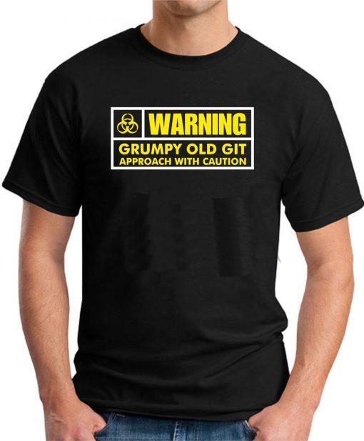 WARNING GRUMPY OLD GIT BLACK