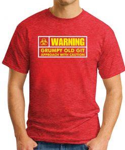 WARNING GRUMPY OLD GIT RED