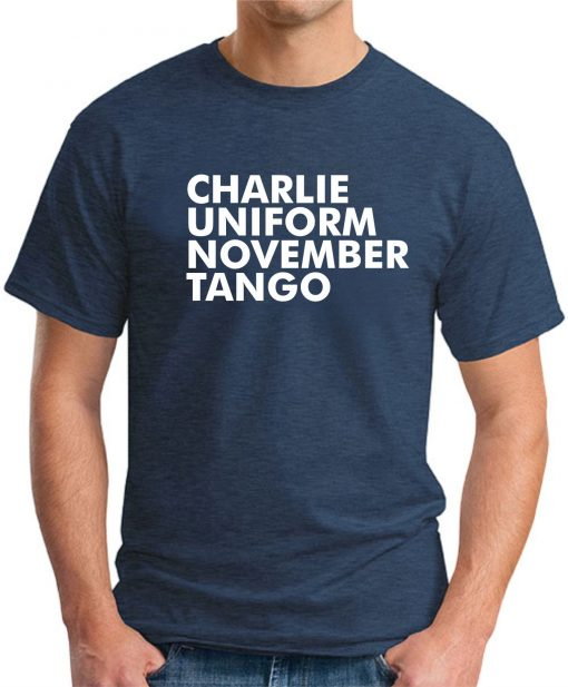 CHARLIE UNIFORM NOVEMBER TANGO NAVY