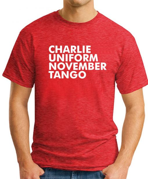 CHARLIE UNIFORM NOVEMBER TANGO RED