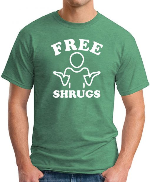 FREE SHRUGS GREEN