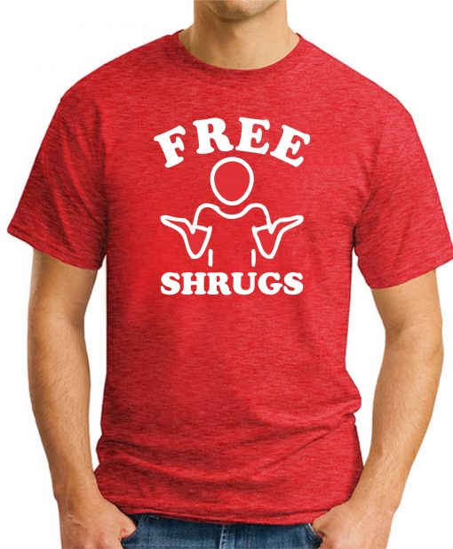 FREE SHRUGS RED