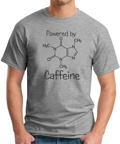POWERED BY CAFFEINE GREY