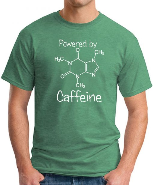 POWERED BY CAFFEINE GREEN