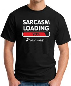 SARCASM LOADING BLACK