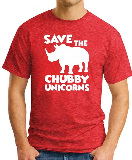 SAVE THE CHUBBY UNICORNS RED