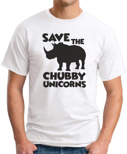 SAVE THE CHUBBY UNICORNS WHITE