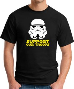 SUPPORT OUR TROOPS black