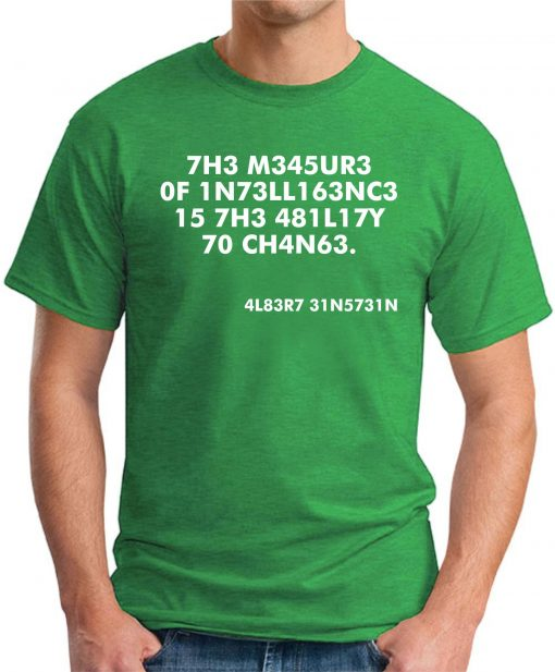 THE MEASURE OF INTELLIGENCE green