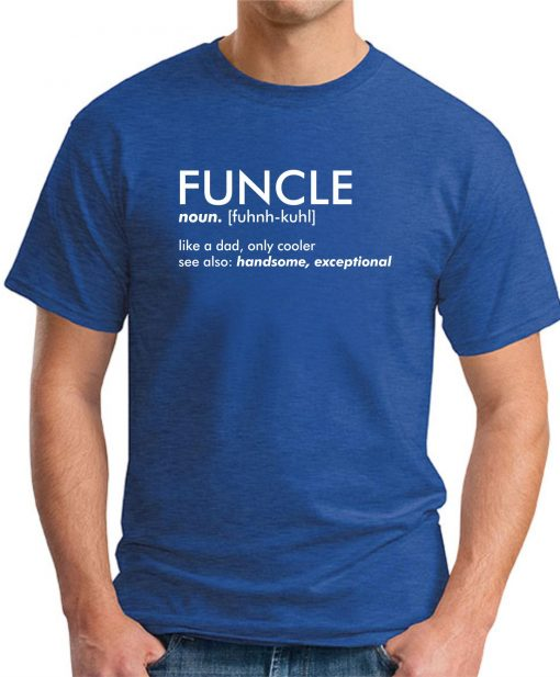FUNCLE ROYAL BLUE