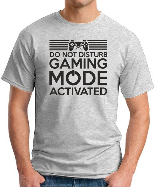 Do Not Disturb - Gaming Mode Activated ash grey