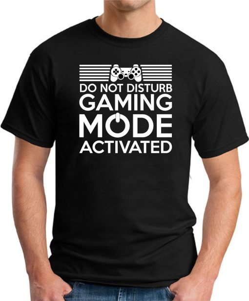 Do Not Disturb - Gaming Mode Activated black
