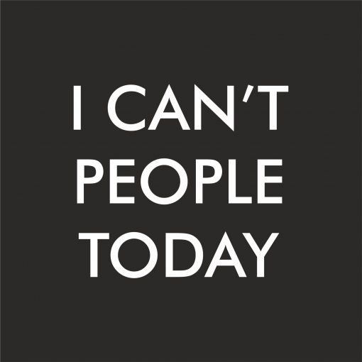 I CAN'T PEOPLE TODAY THUMBNAIL