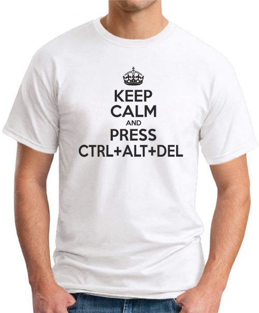 CTRL ALT DELETE WHITE