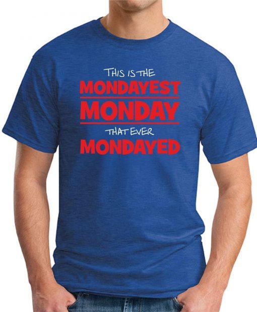 MONDAYEST MONDAY ROYAL BLUE