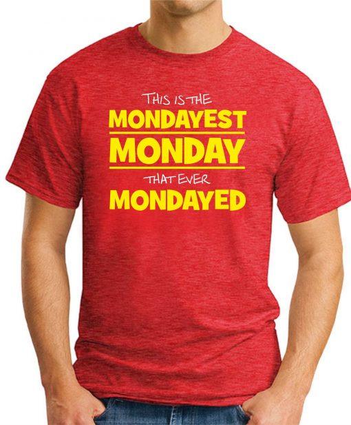 MONDAYEST MONDAY RED