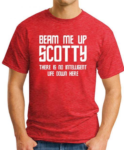 BEAM ME UP SCOTTY - Red