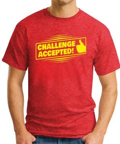 Challenge Accepted - Red
