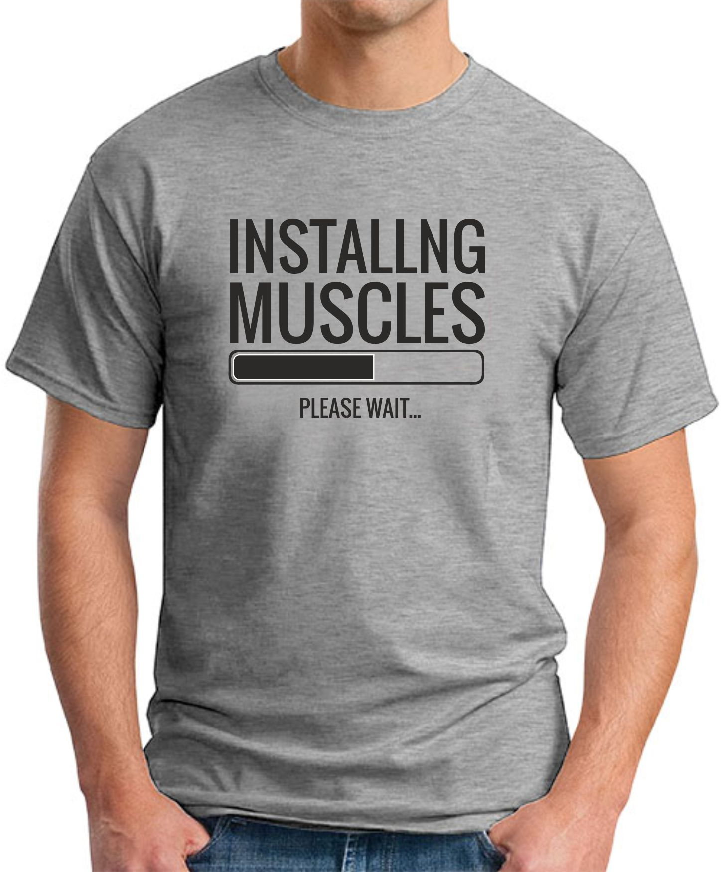 INSTALLING MUSCLES Grey