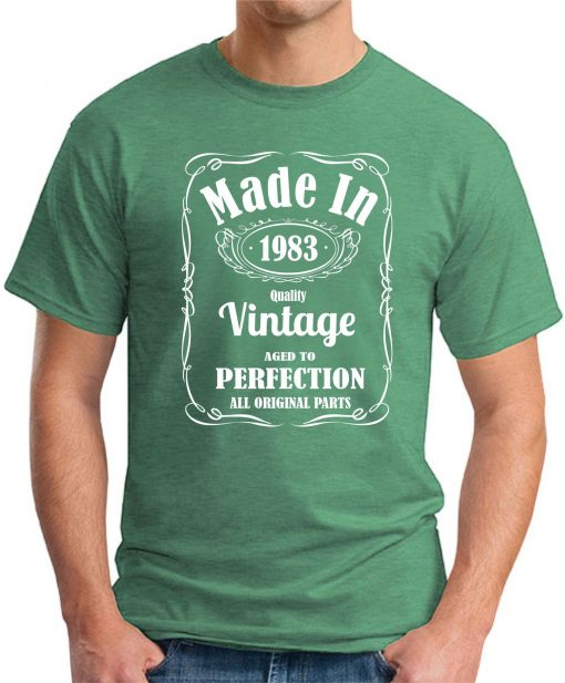 MADE IN 1983 VINTAGE GREEN