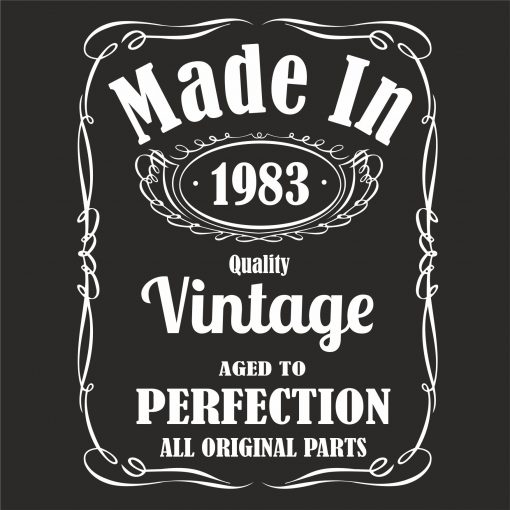 MADE IN 1983 VINTAGE THUMBNAIL