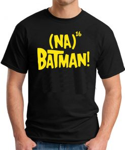 NA NA NA NA BATMAN - Black