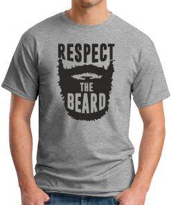 RESPECT THE BEARD - Grey