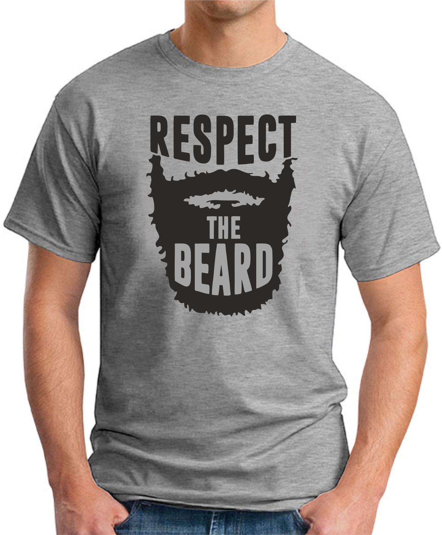 RESPECT THE BEARD - Grey