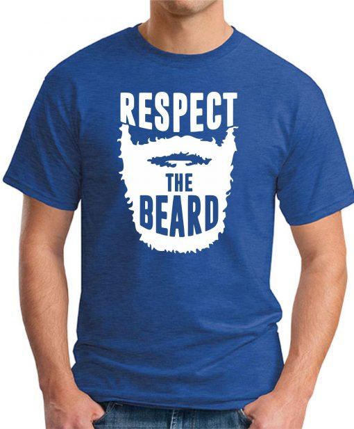 RESPECT THE BEARD - Royal Blue