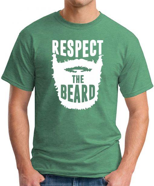 RESPECT THE BEARD - Green