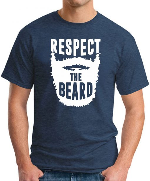 RESPECT THE BEARD - Navy