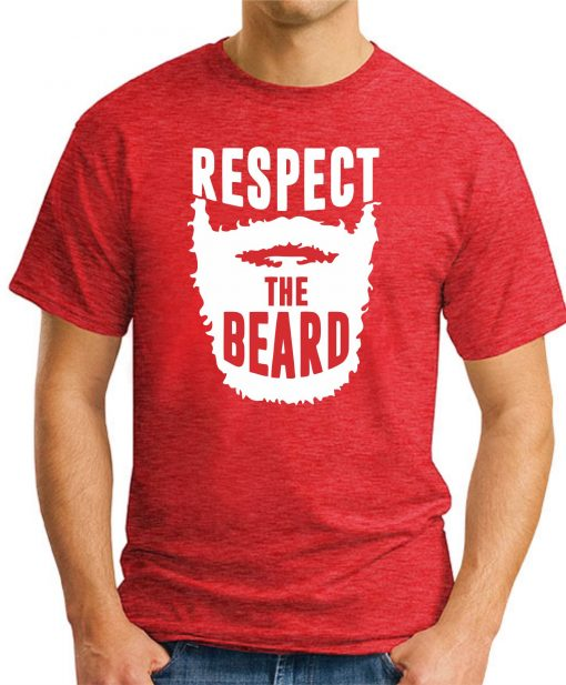 RESPECT THE BEARD - Red