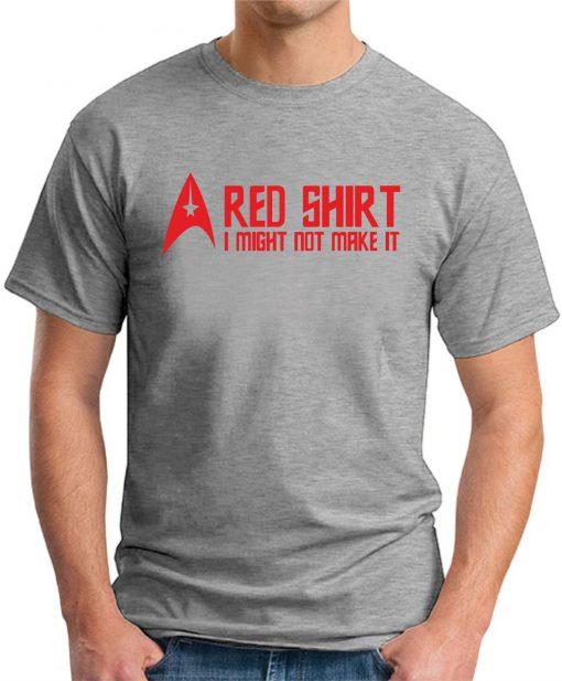 STAR TREK RED SHIRT Grey