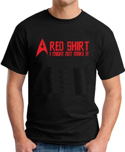 STAR TREK RED SHIRT Black