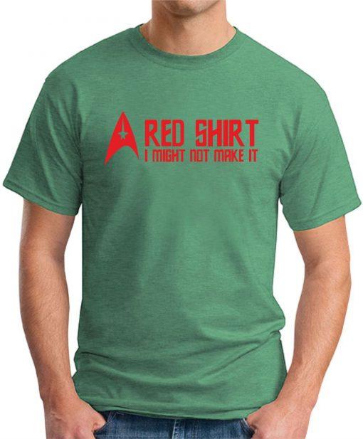STAR TREK RED SHIRT Green