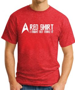 STAR TREK RED SHIRT Red