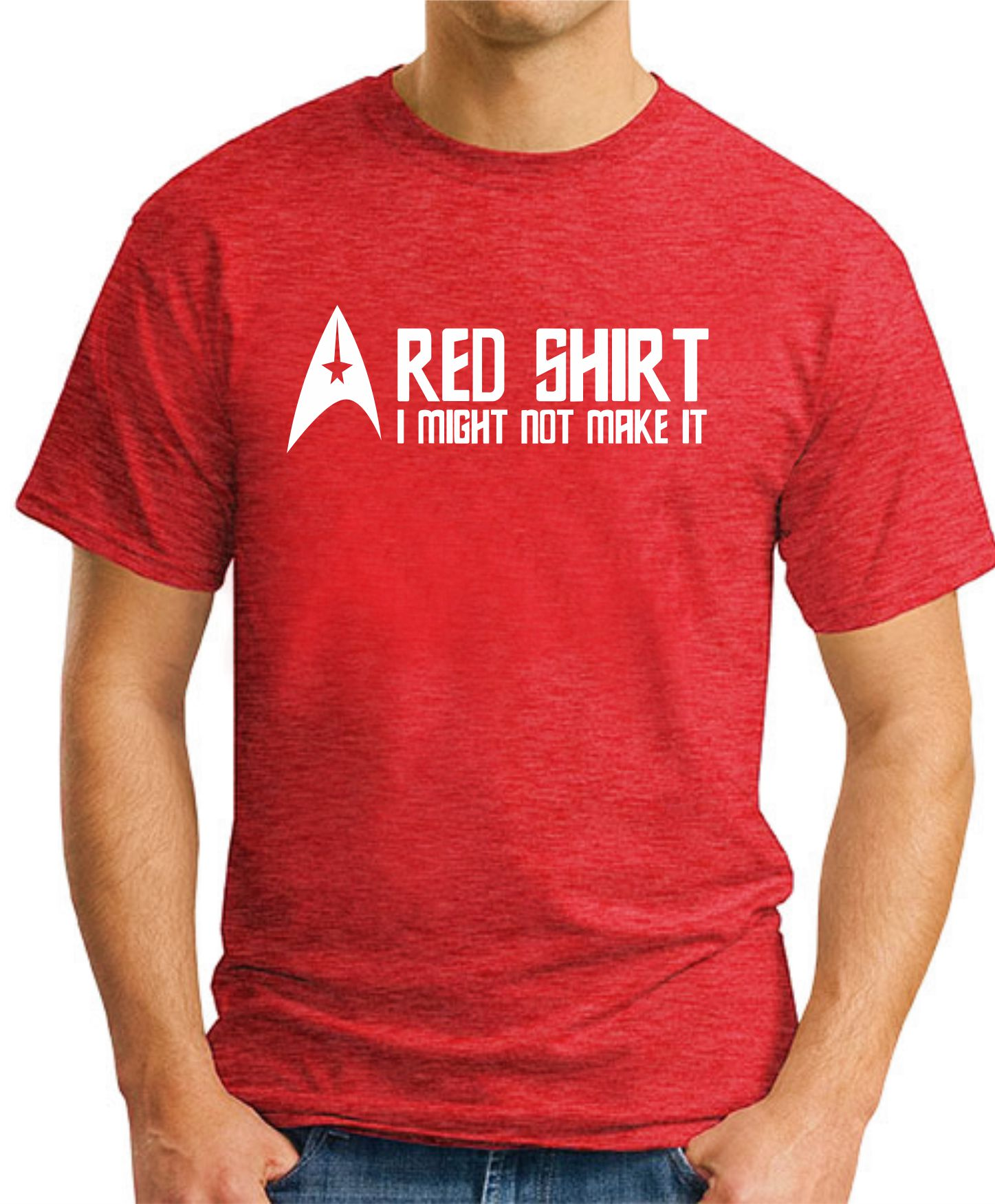 STAR TREK RED SHIRT Red