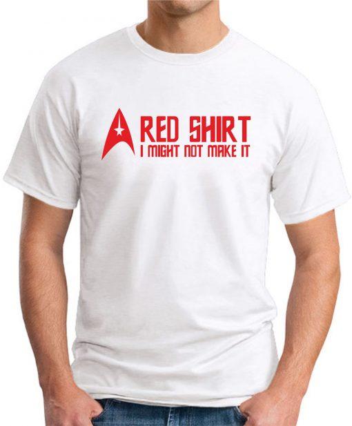 STAR TREK RED SHIRT White