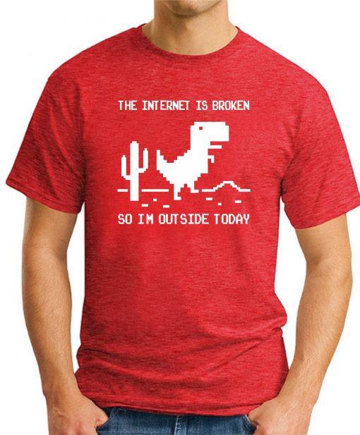 THE INTERNET IS BROKEN Red