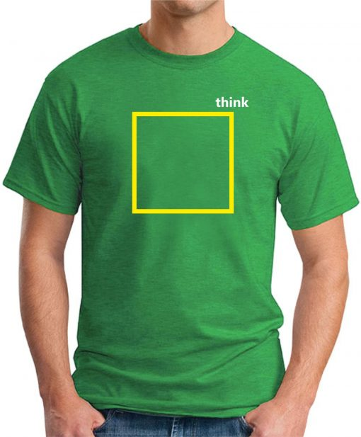 THINK OUTSIDE THE BOX green