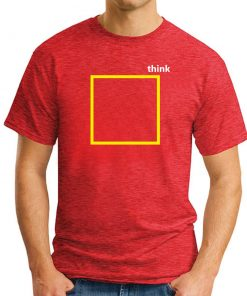 THINK OUTSIDE THE BOX RED