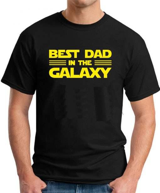 BEST DAD IN THE GALAXY black